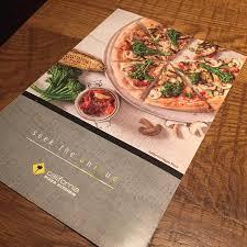 Menu California Pizza Kitchen by Menu Card Picture Of California Pizza Kitchen Los Angeles