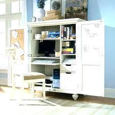 white computer armoire desk computer armoire desk popfigs com