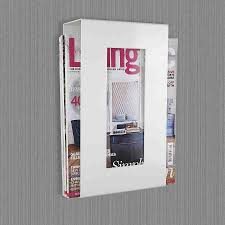 small wall mount magazine rack u2014 rs floral design make of wall