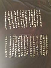 Replacement Glass Crystals For Chandeliers Replacement Chandelier Crystals Lamp Repair Refurbishing Ebay