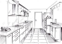 dessin en perspective d une chambre dessin de chambre en 3d l interieur d une maison perspective