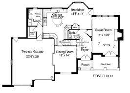 Tudor Floor Plan 107 Best House Plans Images On Pinterest House Floor Plans