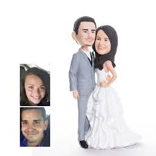 woman cake topper traditional personalized bobbleheads cake topper wedding gifts