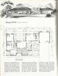 Mid Century Modern House Plan Vintage House Plans 2000 Square Feet Mid Century Homes