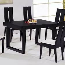 Glass Small Dining Table Mandophoto M 2018 02 Black Ultra Modern Wooden