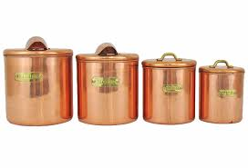 brown kitchen canisters kitchen accessories various sizes of copper kitchen canisters