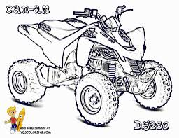 four wheeler coloring pages in omeletta me