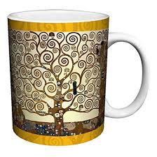 Tree Mug Gustav Klimt Tree Of Ceramic Gift Coffee Tea Cocoa