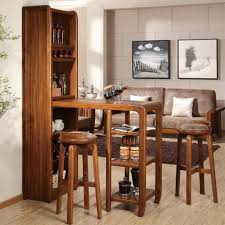 living room mini bar furniture design with wine rack and sofa