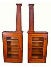 Oak Bookcases With Drawers Early 20th Century Solid White Oak Craftsman Style Bookcases With