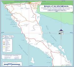 Mexico Road Map by Baja California Mexico Road Map World Atlas Size 1500x1350