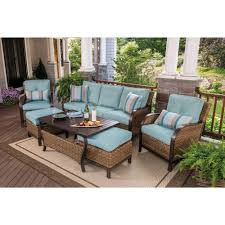Wicker Patio Table Set Berkley Nantucket 6 Wicker Patio Set Bjs Wholesale