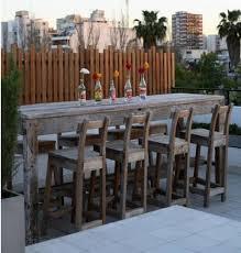 stylish patio furniture bar modern outdoor sets babmar with regard