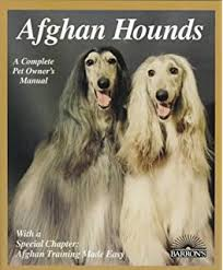 afghan hound times afghan hound comprehensive owner u0027s guide bryony harcourt brown