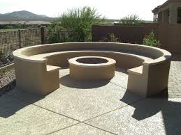 concrete garden bench home outdoor decoration