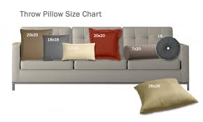 pillow sizes for sofa size matters what you need to know about