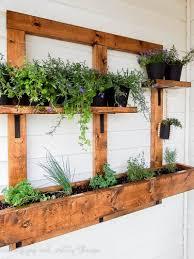 Diy Vertical Wall Garden Vertical Garden Planters Diy Home Outdoor Decoration