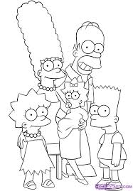 6 how to draw the simpsons