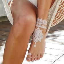 bijoux gold white henna lace temporary tattoo tattify