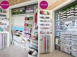 Craft Room Closet Organization - craft closet organization closet ideas