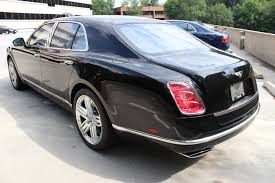 matte black bentley mulsanne 2014 bentley mulsanne stock 4n018730 for sale near vienna va