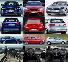 audi a3 vs bmw 1 series ausmotive com bmw 1 series side by side against a3 and golf