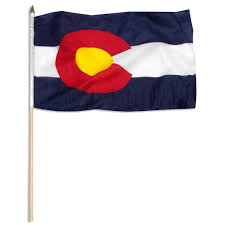 Flag Store Colorado Flag 12 X 18 Inch