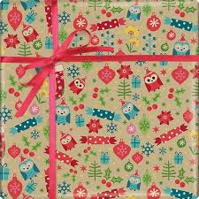 owl christmas wrapping paper owls icons wrapping paper 50m x 500mm