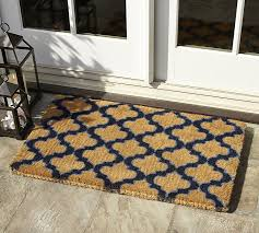 Exterior Door Mat Ogee Doormat Pottery Barn Regarding Front Door Mats Remodel 1
