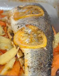 cuisiner du bar au four bar au four les recettes de la cuisine de asmaa