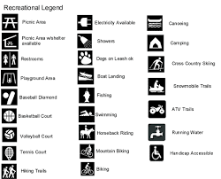 what is a map legend room 167 exles of map legends and map symbols
