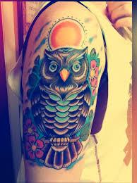 owl tattoos that will keep you awake
