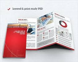 marvellous tri fold business card template ideas folded cards free