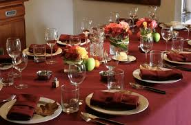 thanksgiving table setting real real friends real deal