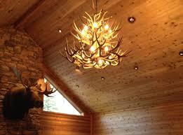 Deer Antler Ceiling Fan Light Kit Chandeliers Design Fabulous Crl Deer Antler Chandelier Large