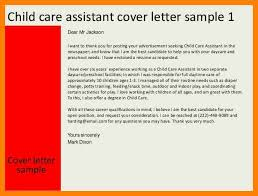 cover letter examples for care assistant 11 child care provider cover letter commerce invoice