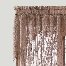 Searsca Sheer Curtains by Buy Pair Of U0027tiffany U0027 Scalloped Lace Swags Curtain Online U0026 Reviews