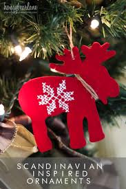 scandinavian inspired ornaments honeybear lane