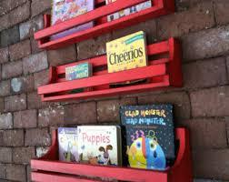 childrens wall mounted bookshelves wall book shelf etsy
