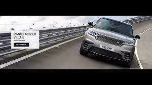 2018 range rover velar at land rover langley youtube
