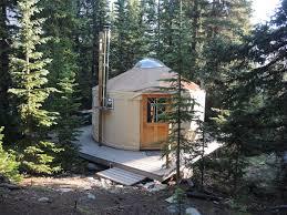 a list of yurt getaways for a truly colorado staycation