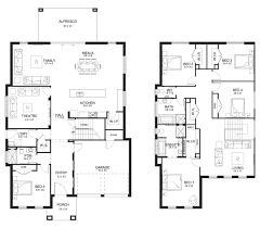 evoque 40 double level floorplan by kurmond homes new home