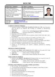 Pharmaceutical Quality Control Resume Sample by Pharmaceutical Microbiologist Resume Sample Contegri Com