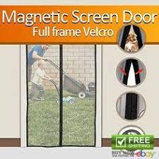 Patio Door Magnetic Screen Home Hardware Magnetic Screen Doors Mesh Curtain 72 W X 80 H