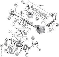 2002 jeep liberty parts jeep liberty kj 35 rear axle parts 2002 quadratec