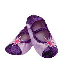 my little pony twilight sparkle girls party costume slipper shoe