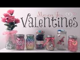 Diy Room Decorations For Valentine S Day More diy mason jar valentines easy gifts u0026 room decor how to youtube