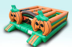 inflatable halloween maze and obstacle course san diego kids