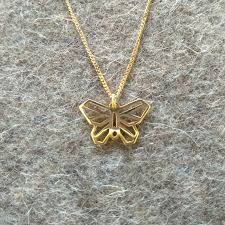 butterfly gold necklace images Wild butterfly pendant 14k gold mcode jewellery jpg