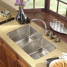 stainless steel double sink undermount exquisite undermount kitchen sink elegant underslung sinks houzer